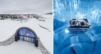 In Svezia ha aperto il primo hotel di ghiaccio che non si scioglie mai: l'interno è un paradiso