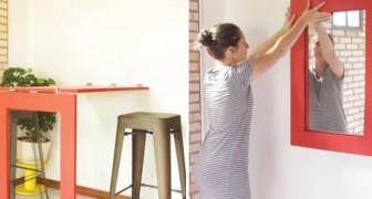 Ecco come costruire un tavolo che si trasforma in specchio passo dopo passo