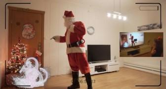 Un papa escogio un plan genial para demostrar la existencia de Papa Noel