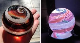 Adieu au cercueil habituel! Cette entreprise transforme les morts en une oeuvre en verre spectaculaire