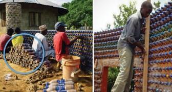 Super-Häuser aus Plastik und Matsch: Die Lösung gegen Erdbeben, Brände und Umweltverschmutzung