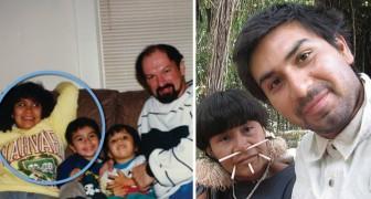 Sa mère l'avait abandonné pour retrouver sa tribu natale: après 20 ans, il la retrouve