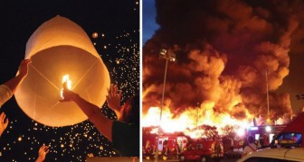Chinese Lantaarns Opgelaten Tijdens Oudjaarsavond? Hier Een Aantal Goede Redenen Om Dat Nooit Meer Te Doen