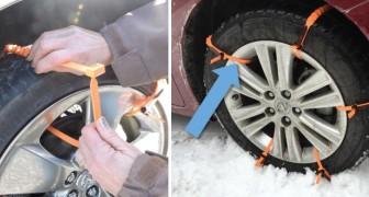 Peur d'une chute de neige imprévue? Ces bandelettes de sécurité vous permettront de prendre la route