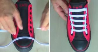 Leer 5 originele manieren om veters in je schoenen aan te brengen!