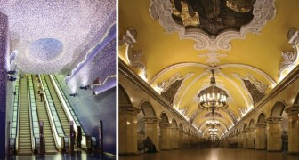 Les métros comme des œuvres d'art: voici quelques-unes des plus belles stations au monde