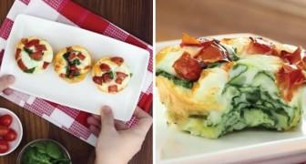 Muffin all'uovo con pomodorini e spinaci: il piatto light che si prepara in pochi minuti