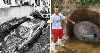 Des hommes qui ont creusé dans leur jardin... et ont trouvé une fortune