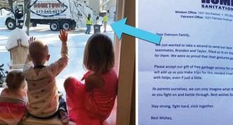 Les éboueurs saluent 3 petites sœurs tous les jeudis... mais un jour ils reçoivent une lettre inattendue