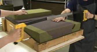 Hier der unglaubliche Herstellungsprozess von Flugzeugsitzen für die erste Klasse