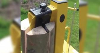 Hout splijten is nooit een leuke klus geweest, maar deze bizarre machines maken deze klus net iets interessanter!