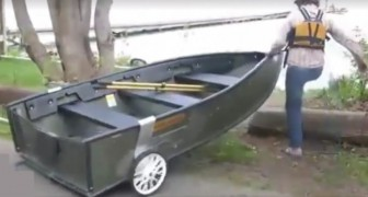 If you love to be out on the water -- this invention is for you!