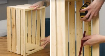Discover another ingenious way to upcycle wooden crates!