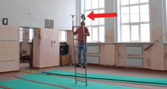 Balancing ladder tricks like this you have never seen before!