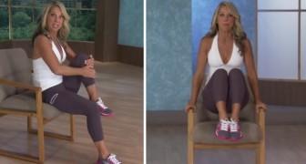 Ginnastica da ufficio: 7 esercizi da fare seduti sulla sedia per riattivare il corpo durante una pausa