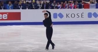 Watch the FIVE-TIME CHAMPION figure skater Javier Fernandez! WoW!
