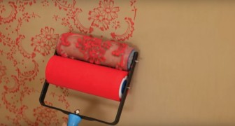 Look what these patterned paint rollers can do! Fantastic!