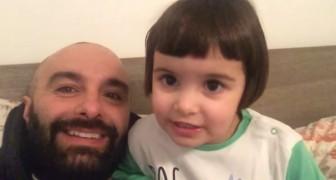 La bambina ripete la poesia pronunciata dal papà: la lezione di recitazione è esilarante