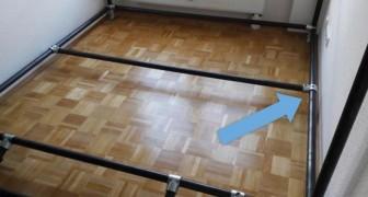 In stanza non aveva spazio per nulla... ma con questi tubi trova una soluzione perfetta!