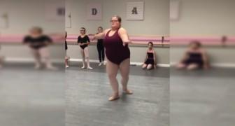 Avec sa façon de danser, cette fille montre que la danse n'est pas faite que pour les minces