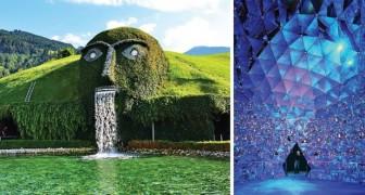 Une montagne mystérieuse pleine de cristaux: voici le musée Swarovski en Autriche