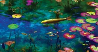 Monet's pond recreated in Seki City, Japan!