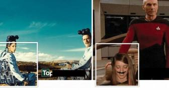 Photo-montages créatifs: cette fille est la reine des images de couverture Facebook