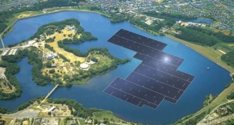 Impianto fotovoltaico galleggiante: il progetto giapponese sarà il più grande del mondo