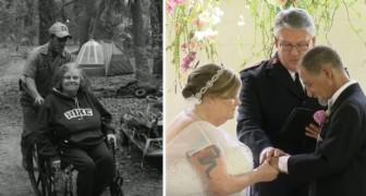 Un officier de police offre à deux SDF le mariage dont ils ont toujours rêvé