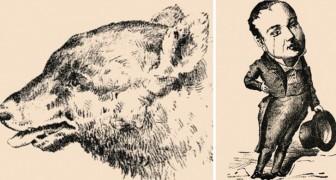 Optische Illusionen im Vintage-Stil: Könnt ihr die versteckten Personen entdecken?