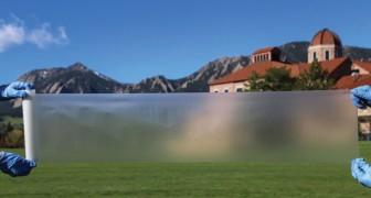 Ohne Strom kühle Luft ins Haus bringen: Wissenschaftler entdecken dass es mit dieser transparenten Folie möglich ist