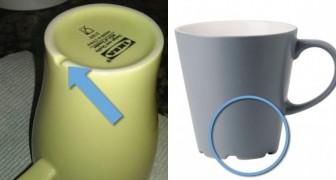 Pourquoi les tasses Ikea ont-elles une base irrégulière? Un employé du magasin nous l'explique