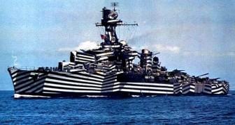 Navires de guerre composés de lignes: voici la technique de camouflage du début du 20e siècle pour échapper aux attaques en mer