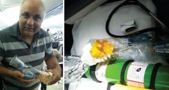 Crise d'asthme en plein vol et aucun inhalateur: ce médecin sauve un enfant en en construisant un