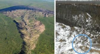 Un cratere in Siberia che cresce a velocità spropositata: la triste verità dietro La porta degli inferi