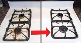 Zo maak je het fornuis schoon zonder dure schoonmaakmiddelen!