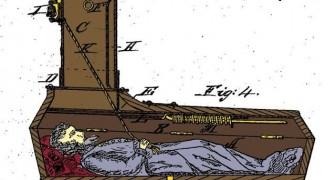 6 Sargmodelle aus dem 19. Jahrhundert um im Falle eines Scheintods überleben zu können