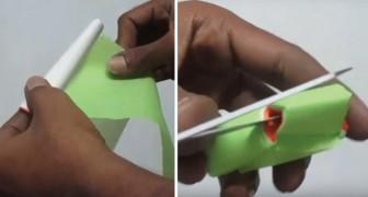 Lerne wie man bunte Dekorationen mit wenigen Handgriffen dank der indischen Papierkunst erstellt