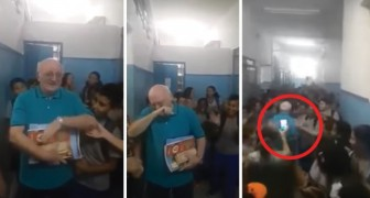 See the ultimate tribute to a professor! Absolutely wonderful!