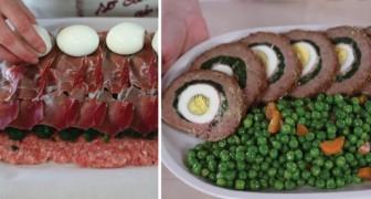 Polpettone ripieno: la ricetta tradizionale che adesso potete preparare con facilità