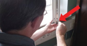 Some windows have a special screw that should be turned at least twice a year to keep your house from becoming too drafty
