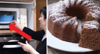 Ciambella al cacao al forno a microonde: il dolce DELIZIOSO fatto all'ultimo minuto