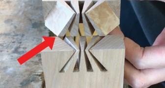 La queue d'aronde: la technique japonaise à la précision millimétrique