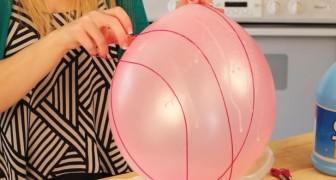 Ze wikkelt een touwtje om een ballon: deze paasdecoratie is een ware eyecatcher!