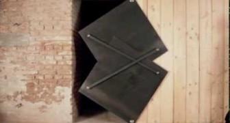 Una porta molto originale