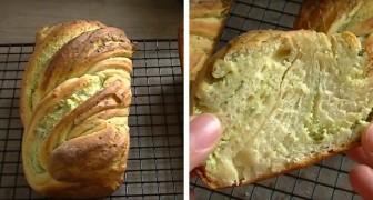 Babka alla crema di formaggio, aglio ed erbette fresche: il pane dell'Est Europa che inizierete ad amare