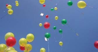 Warum man niemals Luftballons im freien steigen lassen sollte