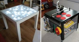 Imbattibile tavolino IKEA: questo pezzo ultra-Economico si presta a ogni sorta di trasformazione
