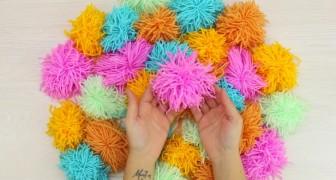 Tapetinho de pom-pom: aprenda a fazer este lindo objeto de decoração!