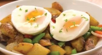 Il trucco per cucinare le uova in camicia in modo veloce e soprattutto INFALLIBILE
